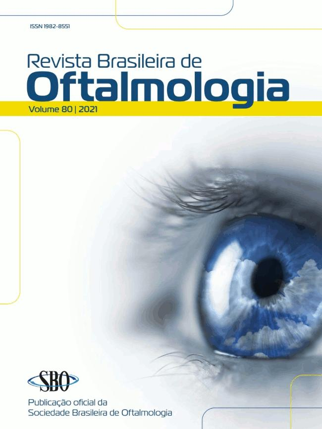 Logomarca do periódico: Revista Brasileira de Oftalmologia