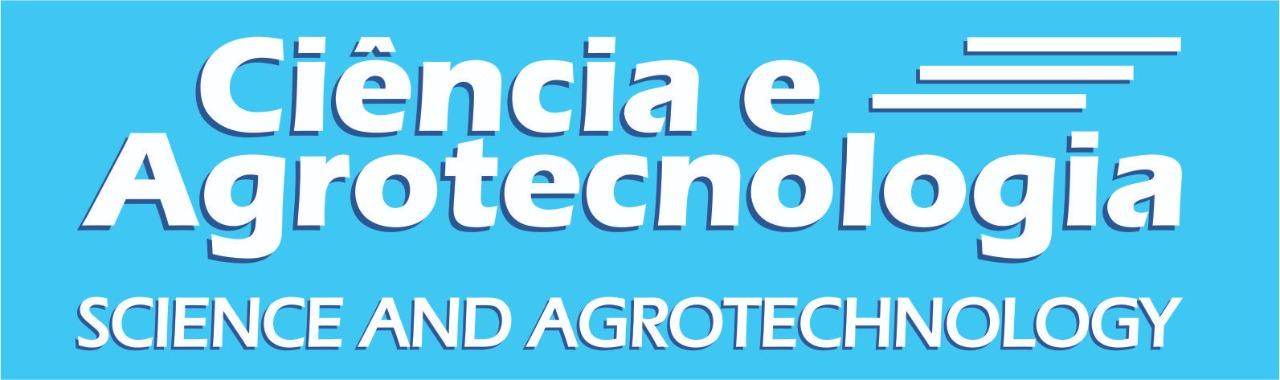 Logomarca do periódico: Ciência e Agrotecnologia