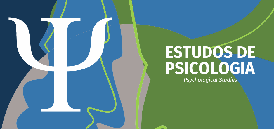 Logomarca do periódico: Estudos de Psicologia (Campinas)