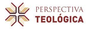 Logomarca do periódico: Perspectiva Teológica