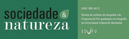Logomarca do periódico: Sociedade & Natureza
